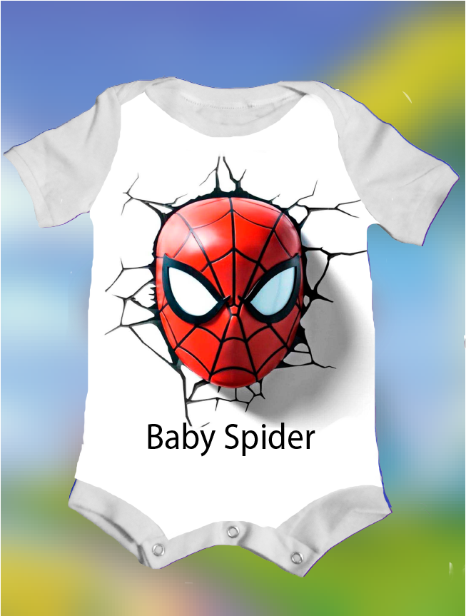 CAMISETA/BODY BABY SPIDER