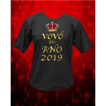 CAMISETA VÓVÓ DO ANO NOVO
