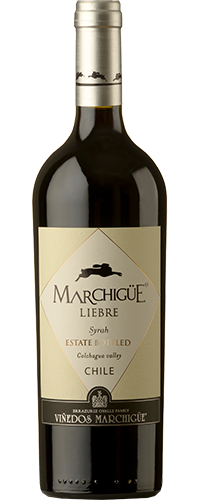 Vinho Chileno Marchigue Liebre Syrah 750ml Safra 2016