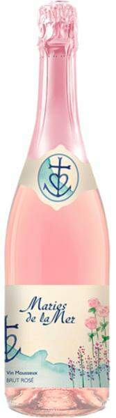 Espumante Frances  Maries de La Mer Brut Rose 750ml