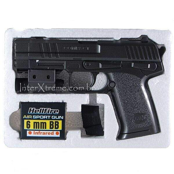 Pistola com Laser Sight 6mm
