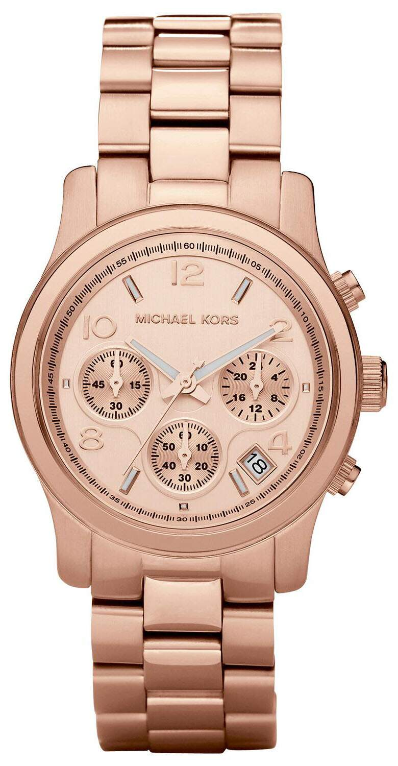 f52f17d8a Relógio Michael Kors Mk5128 Ouro Rose ...