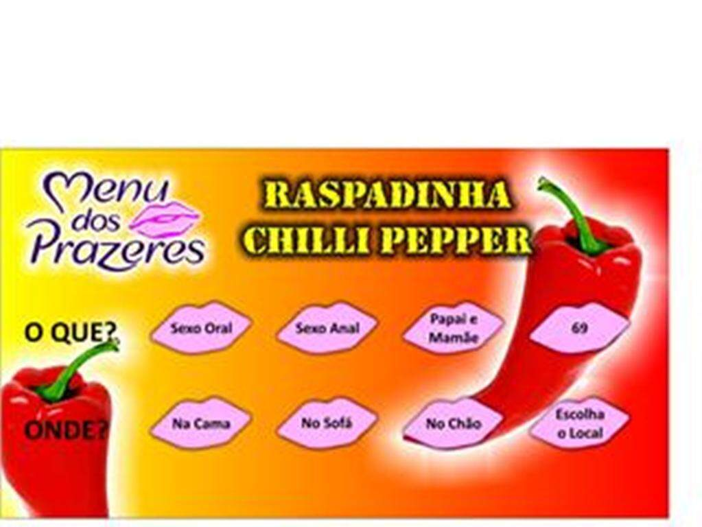 RASPADINHA CHILLI PEPPER