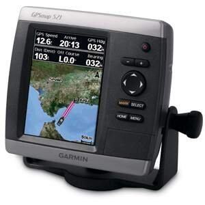 Gps Garmin Map 521s Náutico Com Sonar Integrado