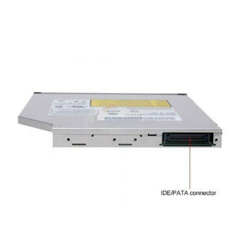 Gravador DVD RW CD RW Interno Ata IDE Para Notebook Novo