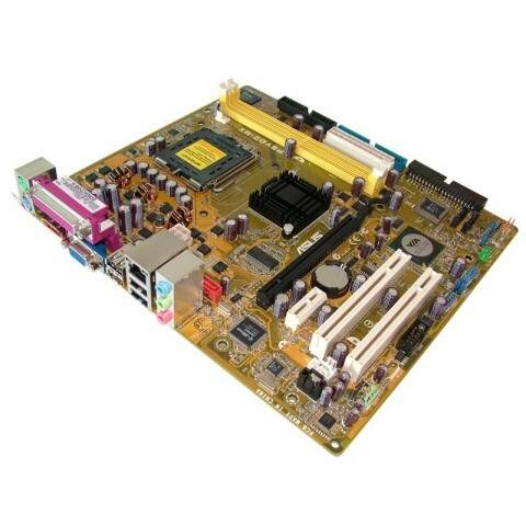 Placa Mãe Asus P5vd2-mx Socket 775 Ddr2 Via Hd Desktop Nova
