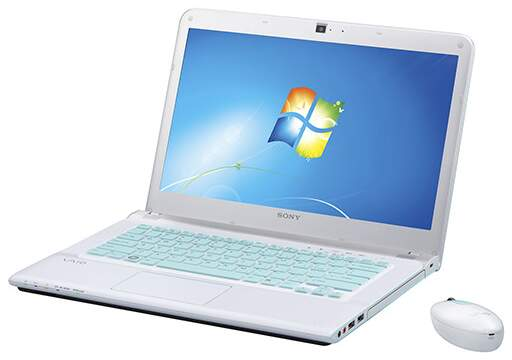 Notebook Sony Vaio SVE14A16FBW Core I5 6GB HD 640GB + Mouse