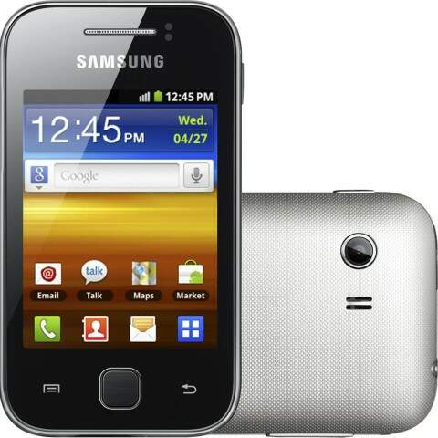 Smartphone Galaxy Y Gt-s5360b Android 2.3 3g 2mp