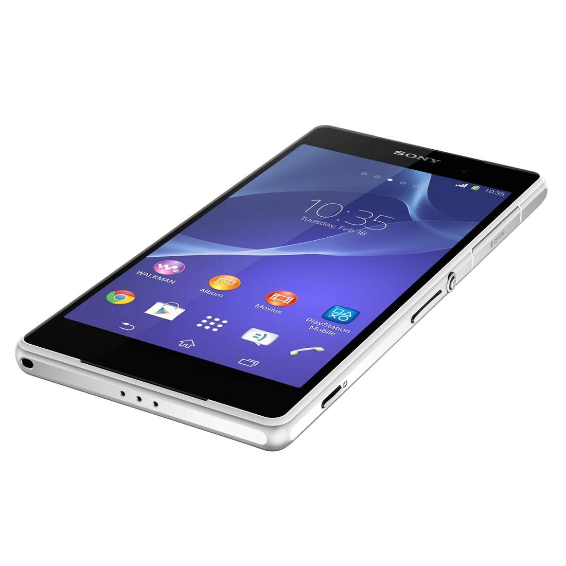 Sony Xperia Z2 D6543 + Smartband - Android 4.4 5.2\\\'\\\' Branco