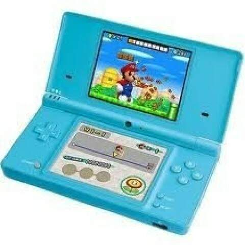 Nintendo Dsi Azul Claro Novo - Video Game Portátil