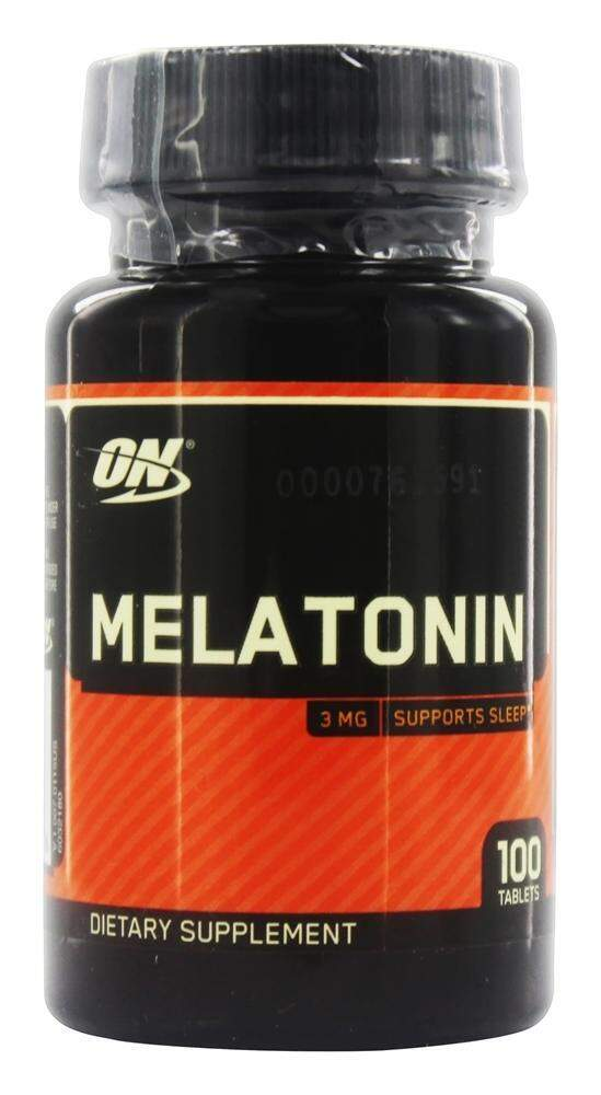 Melatonina Optimum Nutrition 3mg - 100 comprimidos val 02-2019