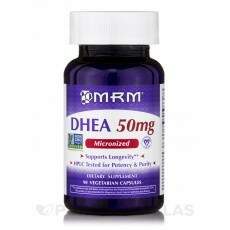Dhea 50mg Micronized MRM 90 capsulas vegetarinas
