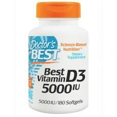 Vitamina D3 Best 5.000 IU Doctors Best 180 Softgels