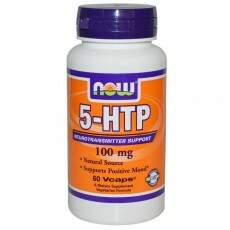 5-HTP 100mg Now Foods 60 vegetarian capsulas