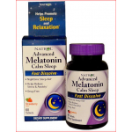 Melatonina 6 mg + L-Theanine 25mg Sublingual Natrol 60 tabletes sabor Morango