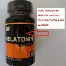 Melatonina Optimum Nutrition 3mg - 100 comprimidos