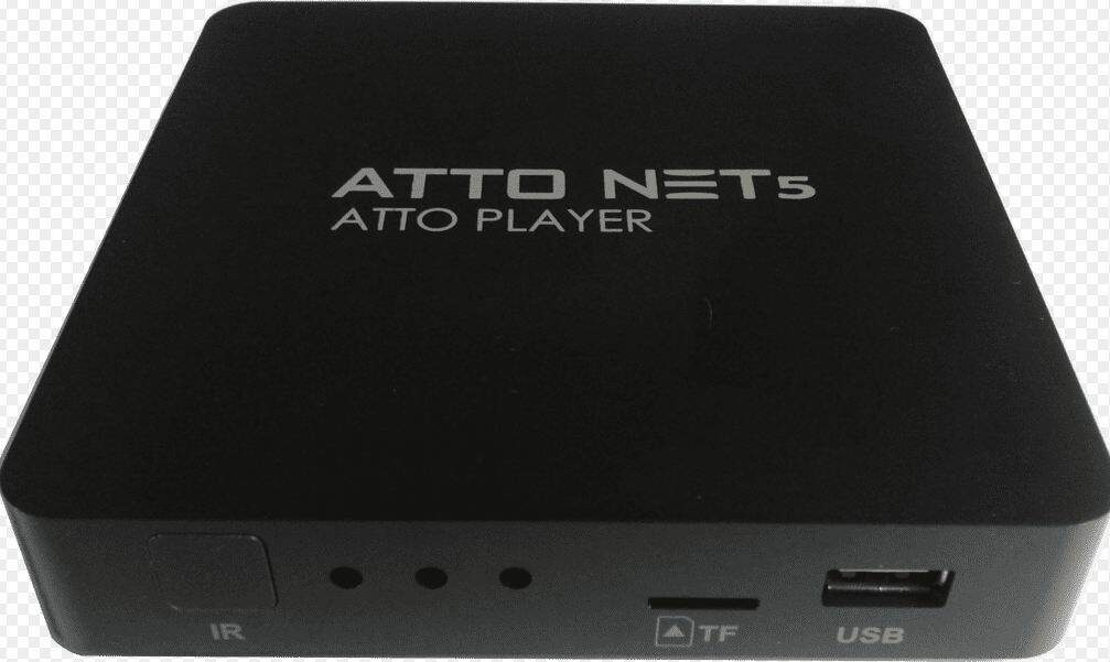 RECEPTOR ATTO NET 5 PLAYER IKS FREE + KS ALTERNATIVO + 177 CIDADES