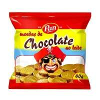 MOEDAS DE CHOCOLATE PAN 40G