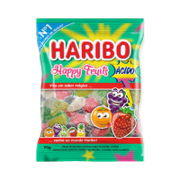 BALA GEL HAPPY FRUITS HARIBO 90G