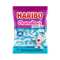 MARSHMALLOW CABLES BLUE HARIBO 80G