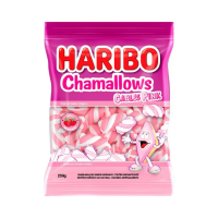 MARSHMALLOW CABLES PINK HARIBO 250G