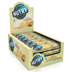Barra de Cereais Banana Diet 22g Nutry