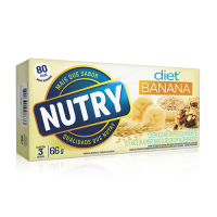 Barra de Cereais Banana Diet 22g