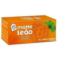 Matte Leão Tea Bag Natural 40g (25 saquinhos)