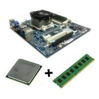 Kit AMD Placa Mae Fm2 + Processador A8 7600 + Memoria DDr3 2gb - Semi-Novo