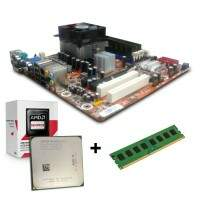 Kit AMD Placa Mae AM3 + Processador Sempron + Memoria DDr3 2gb - Semi-Novo