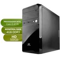 Computador Home i3 4170 3,7Ghz 4Gb Ddr3 500Gb