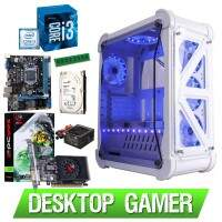 Computador Gamer i3 7100 3,9Ghz Geforce Gt 730 4Gb PcYes 4Gb Ddr4 1Tb 500w