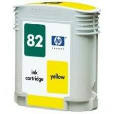 Cartucho de Tinta HP 82 Amarelo | C4913A Original 69ml