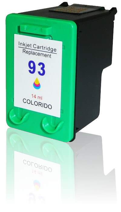 Cartucho de tinta HP 93 Colorido | C9361W Remanufaturado 14ml