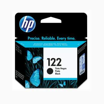 Cartucho de tinta HP 122 Preto | CH561HB Original 2ml