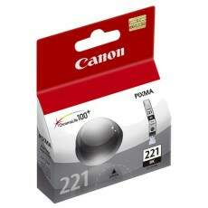 Cartucho De Tinta Canon 221 Preto | Cli-221 Bk Original 9ml Elgin| PIXMA IP3600 | MP540 | MX860