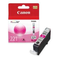 Cartucho De Tinta Canon 221 Magenta | Cli-221 Ma Original 9ml Elgin| PIXMA IP3600 | MP540 | MX860