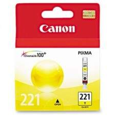 Cartucho De Tinta Canon 221 Amarelo | Cli-221 Ye Original 9ml Elgin| PIXMA IP3600 | MP540 | MX860