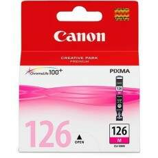 Cartucho de Tinta Canon 126 Magenta | Cli-126 Ma Original 9ml Elgin| PIXMA IP4810 | IP4910 | IX6510 | MG5210 | MX711