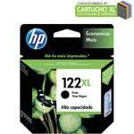 Cartucho de Tinta HP 122XL Preto CH563HB Original 8,5ml