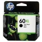 Cartucho de tinta HP 60XL Preto | CC641WB Alto Rendimento Original 13,5ml