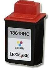 Cartucho Lexmark 19 Colorido 13619HC Remanufaturado 27ml