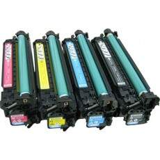 Kit 4 Toners HP 507X | 507A Compativeis Enterprise 500 color M551 | M570 | M575