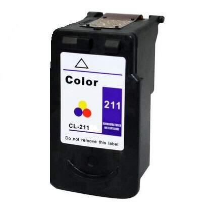 Cartucho de tinta Remanufaturado CL-211 Colorido 9ml