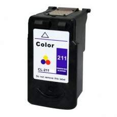 Cartucho de tinta Canon CL-211 Colorido Remanufaturado 9ml