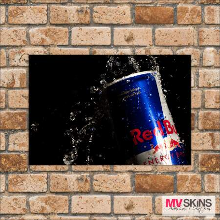 Placa Decorativa Red Bull