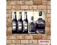 Placa Decorativa Heineken, Chivas Regal e Natu Nobilis