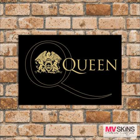Placa Decorativa Queen