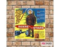 Placa Decorativa Riders To The Stars
