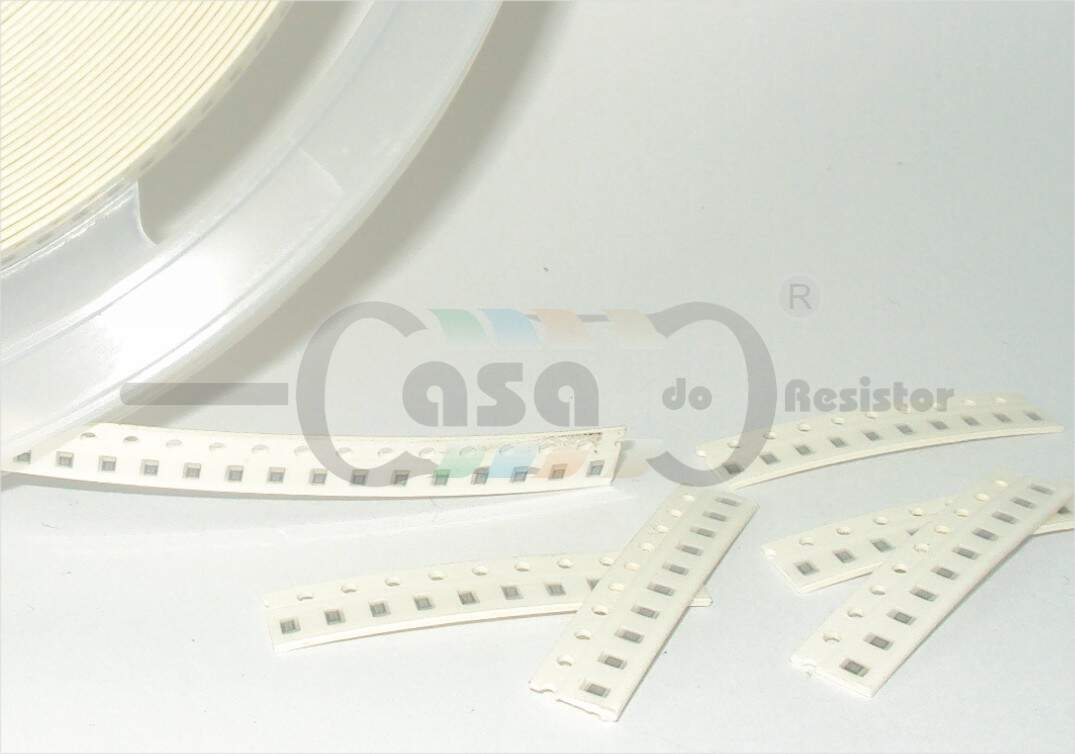 Resistor SMD 0805 0,12W  1% - 1R (ZCRS0001)